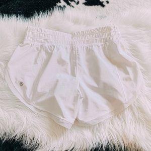 Lululemon white anew shorts